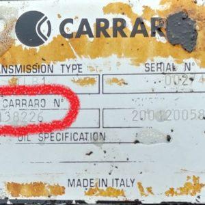 Трансмиссия Carraro 138226, 200120058 Komatsu WB93R-5