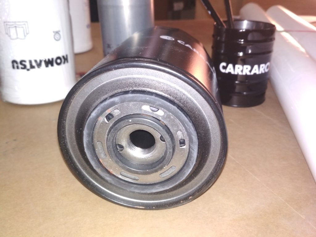 AN121TO104 CARRARO масляный фильтр (3)