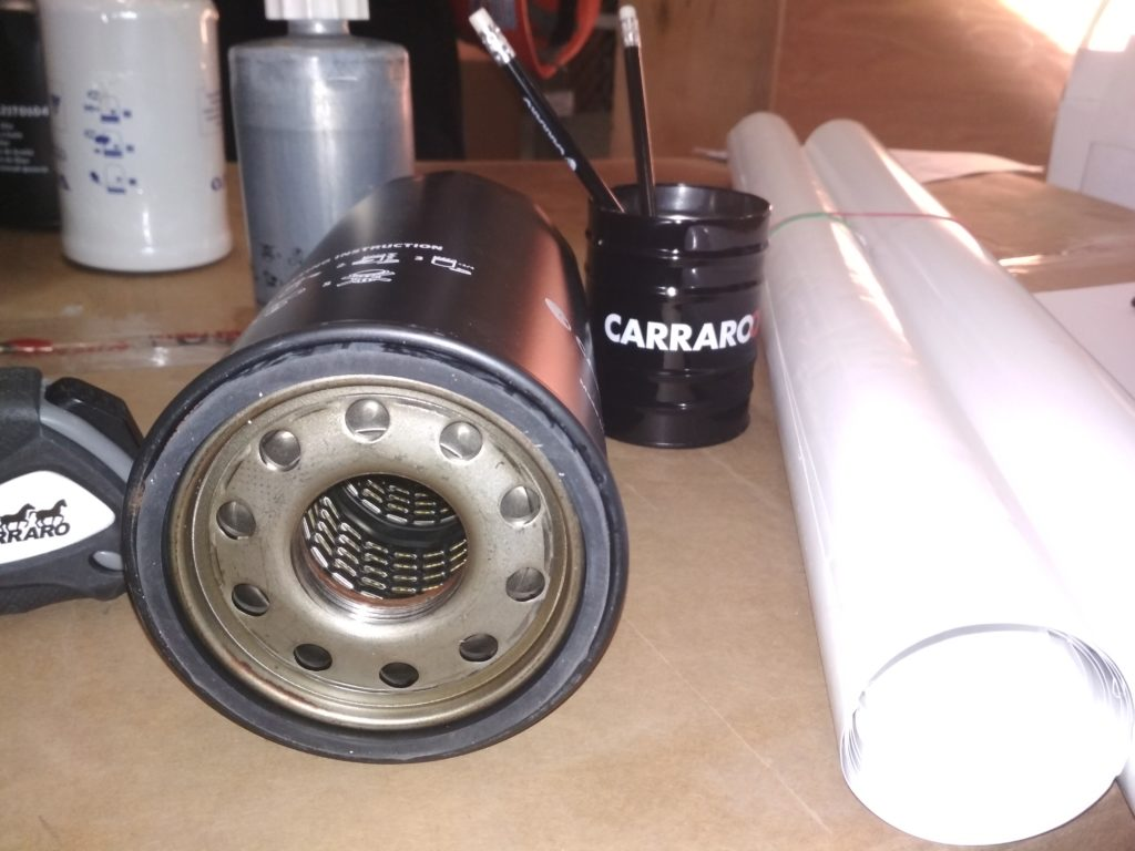 AN121TO105 CARRARO Масляный фильтр (4)